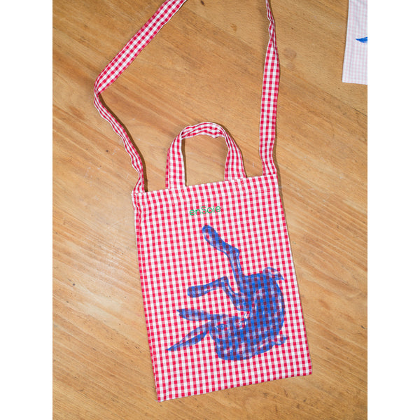 'Rabbit Carry All' kids bag red