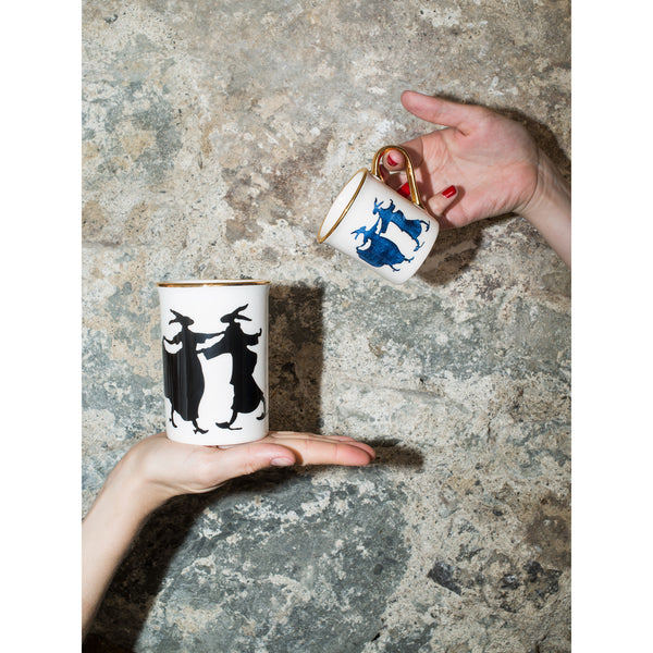 'Rabbit' mug black