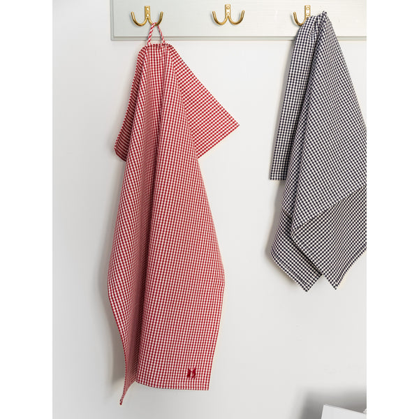 'Kitchen towel' vichy red