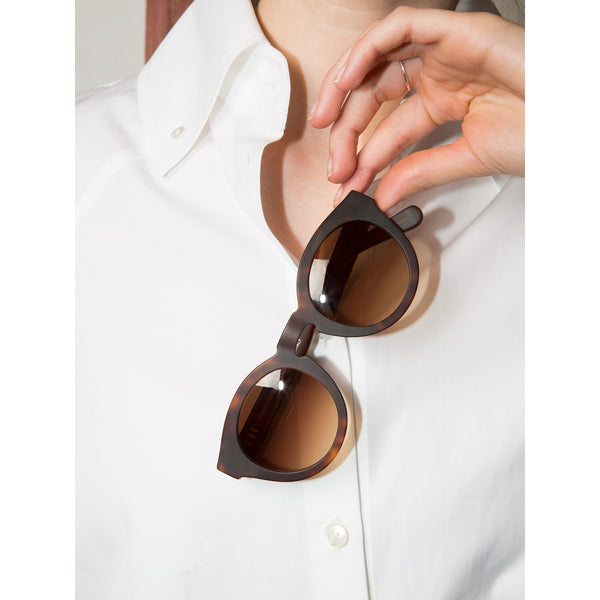 'Lily' brown sunglasses