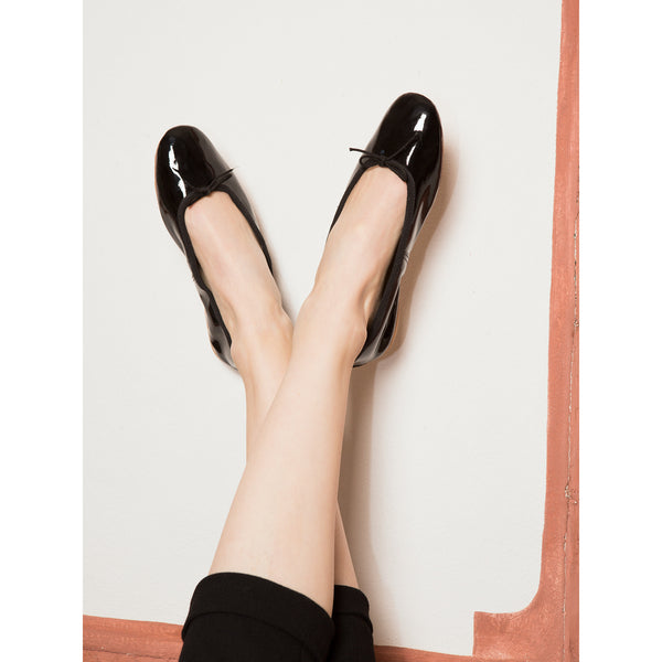 Porselli Black Patent