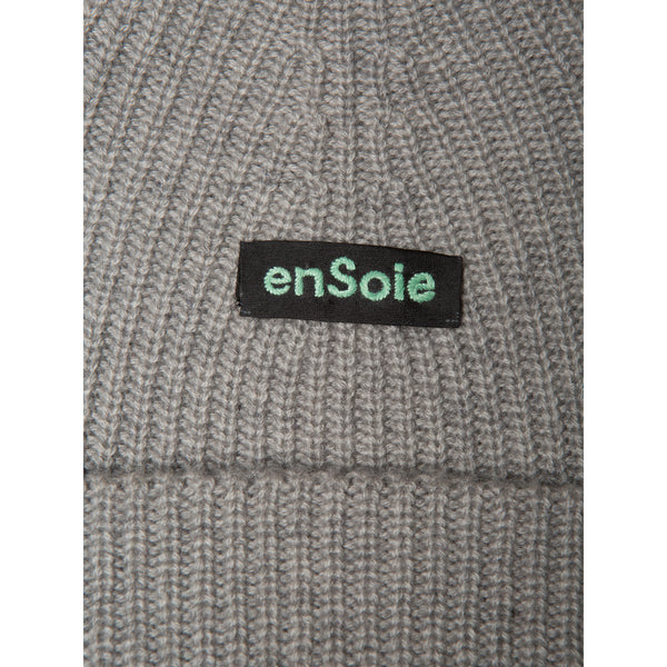'Sailor' beanie hat grey melange