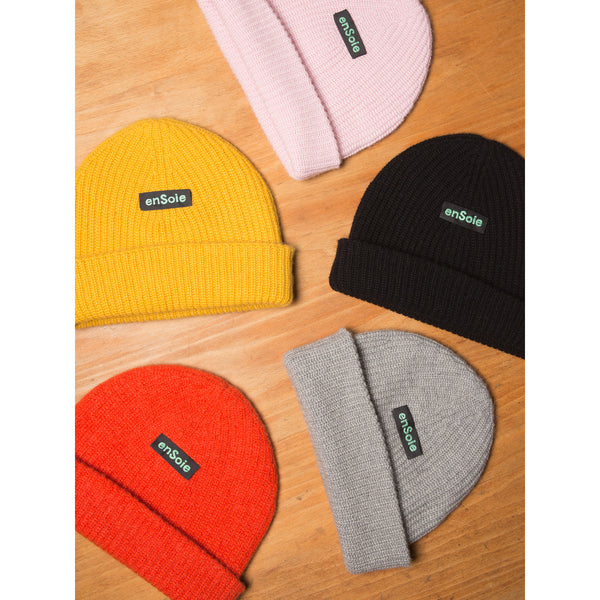 'Sailor' beanie hat honey