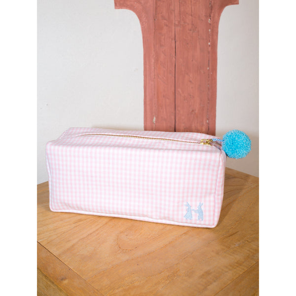 'Linda' toiletry cases vichy rose