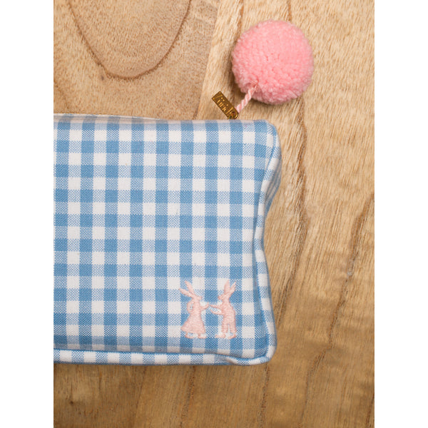'Linda' toiletry cases vichy baby blue