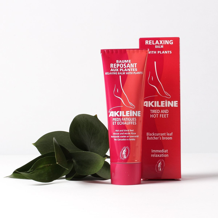 AKILEINE Relaxing Foot Cream with Plants