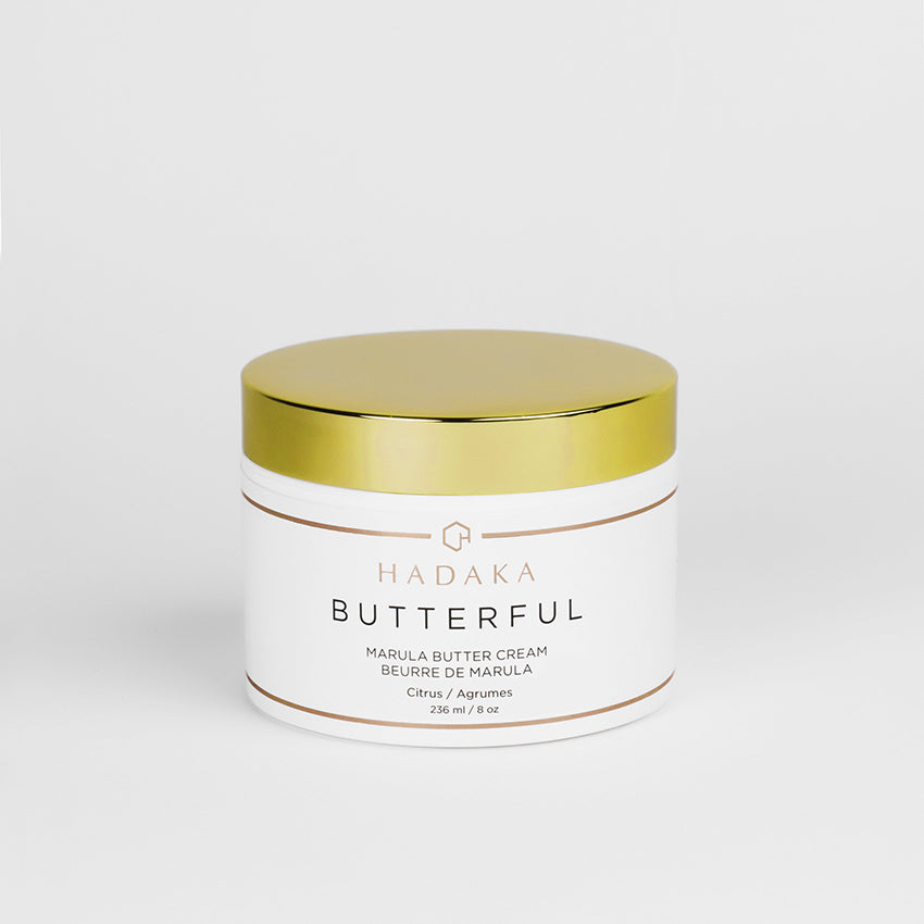 BUTTERFUL MARULA BODY BUTTER. CITRUS.