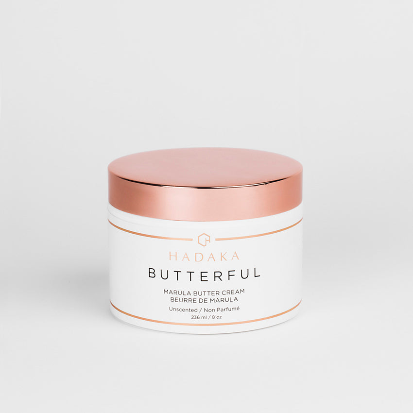 BUTTERFUL MARULA BODY BUTTER. UNSCENTED.