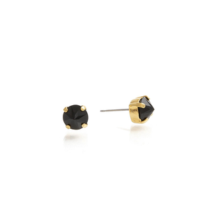 Load image into Gallery viewer, SPIKE Earrings Black-Gold