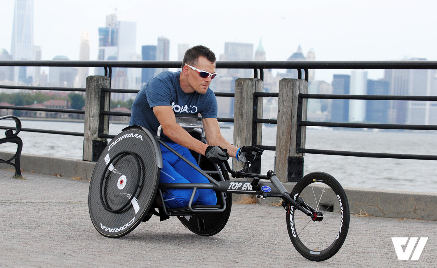 Glenn Hartrick Was Hit by a Car and Paralyzed from the Chest Down. Now He's About to Make NYC Marathon History.