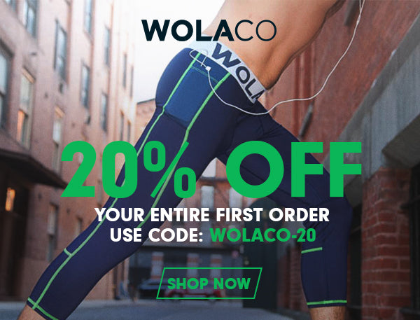 20% Off First Order With WOLACO-20