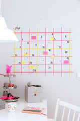 Washi - agenda - wall - stationary - organization