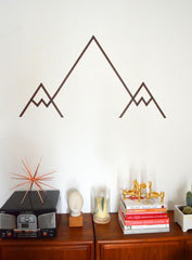 Washi - Wall art - mountains