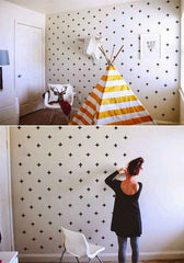 washi - kids room - kruisjes