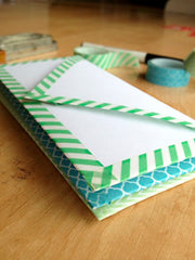 washi stationary enveloppen