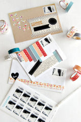washi stationary papier enveloppen