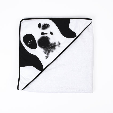 Hooded towel - Dalmatian