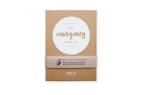 Emergency Card Kit • Carrie Can