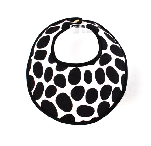 Bib Spotted Black • Anatology