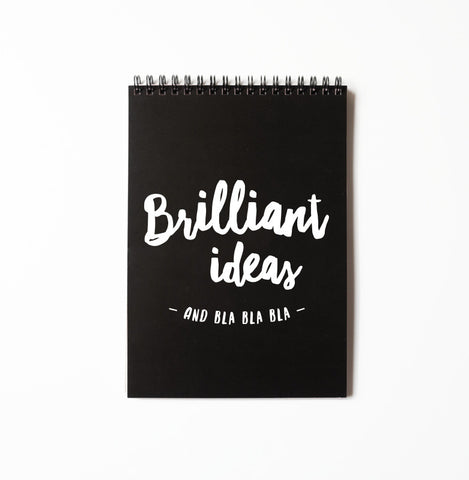 Notebook - Brilliant ideas • The Birds and the Bees