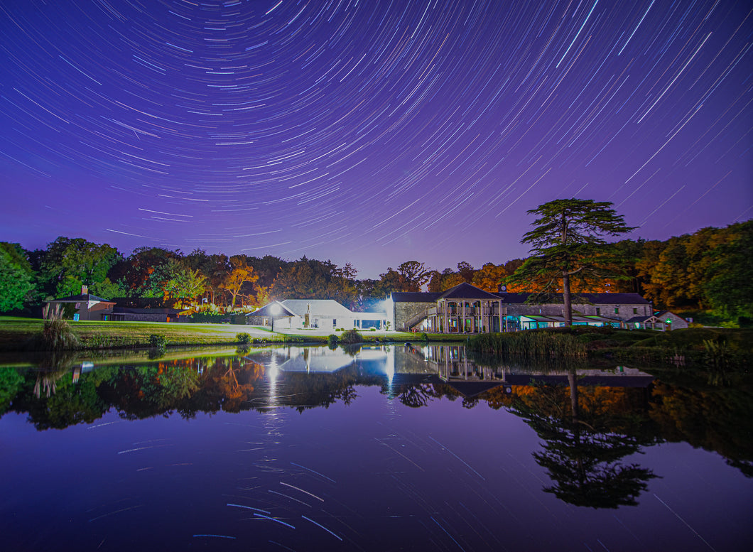 Fota Island Clubhouse At Night