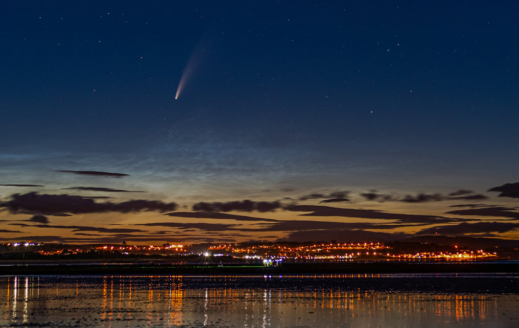 Comet NEOWISE Over Youghal