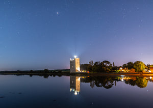 Mars Over Belvelly Castle