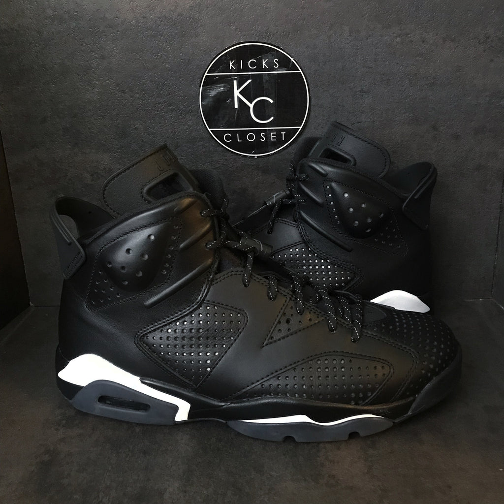 "AIR JORDAN 6 RETRO ""BLACK CAT"" SIZE 9 VNDS"