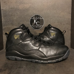 "AIR JORDAN 10 RETRO ""NYC"" SIZE 11 VNDS"