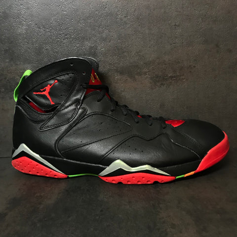 "AIR JORDAN 7 RETRO ""MARVIN THE MARTIAN"" SIZE 11 PRE-OWNED"