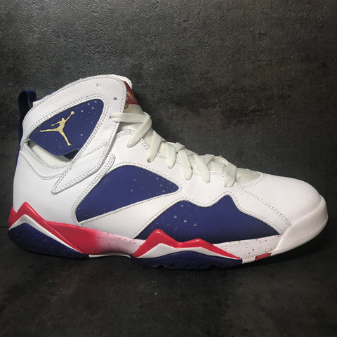 "AIR JORDAN 7 RETRO ""ALTERNATE OLYMPIC"" SIZE 10.5 PRE-OWNED"