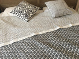 JALI QUILT-Smoke grey colour