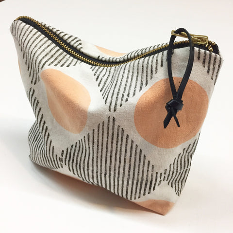 Peach Moon Travel pouch