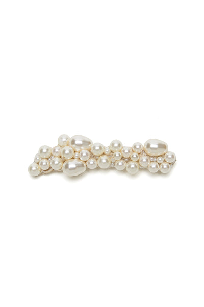 Thumbnail of Pearl Pebble Hair Comb. Pinning down your hairstyle will be a piece of (wedding...