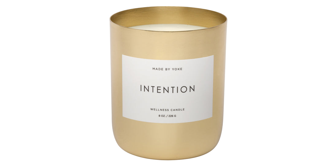 Soy Wellness Candle: Intention