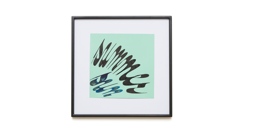 "Mint ""Summer Sun"" Framed Art"