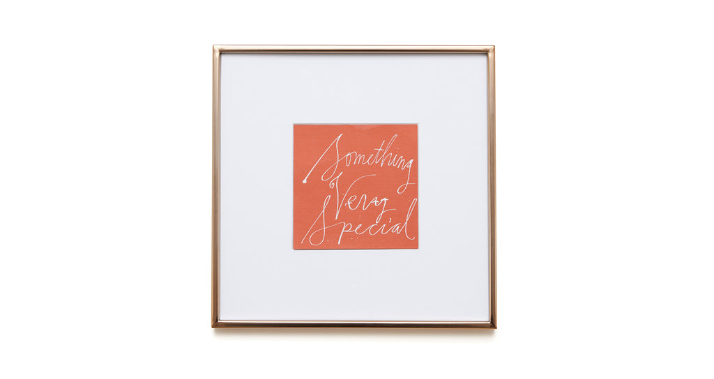 """Something Very Special"" Framed Art"