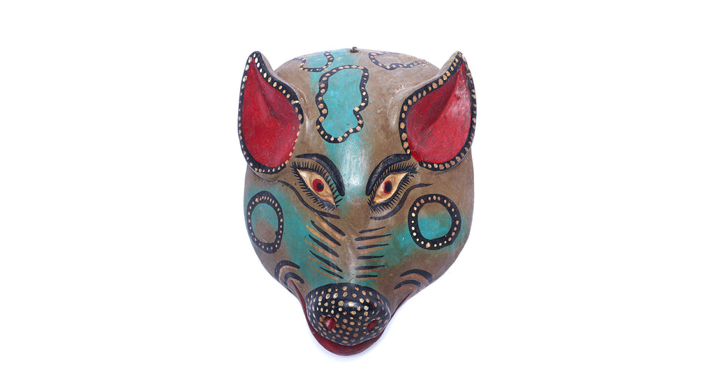 Mexican Wood Mask