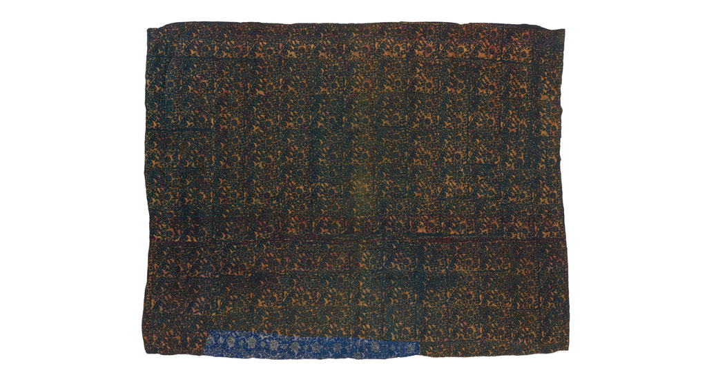Full view of Vintage Kantha. The subtle variations in tone are what make this vintage one-of...