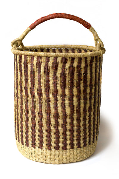Striped Bolga Hamper