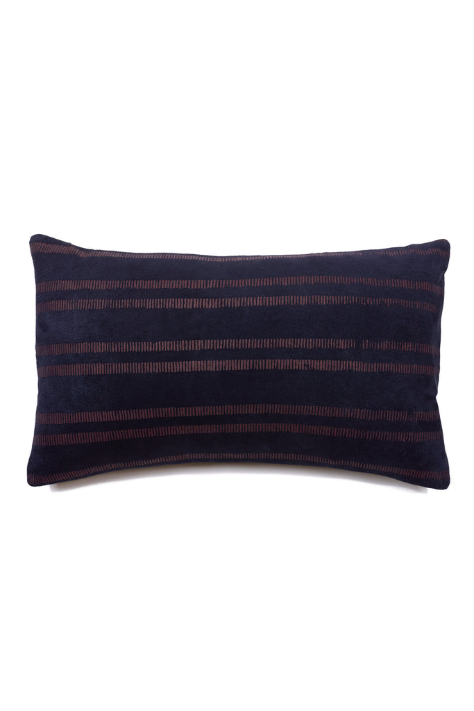 Painted Stripe Bolster Pillow