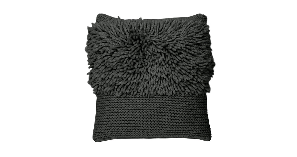 Charcoal Kokkola Stripe Cushion