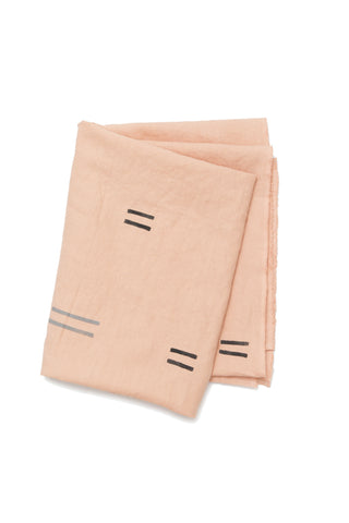 Yucatan Pink Linen Throw