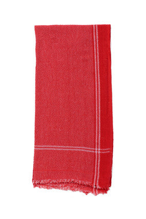 Red Cotton Towel