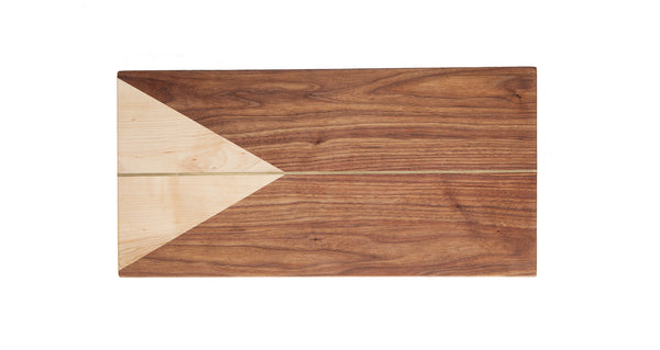 Brass Inlay Cheese Board