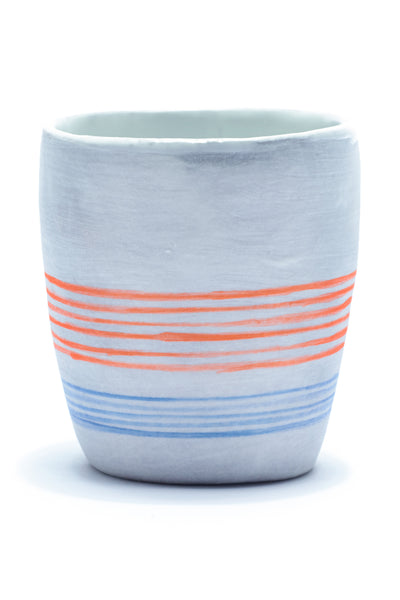 Thin Striped Cup