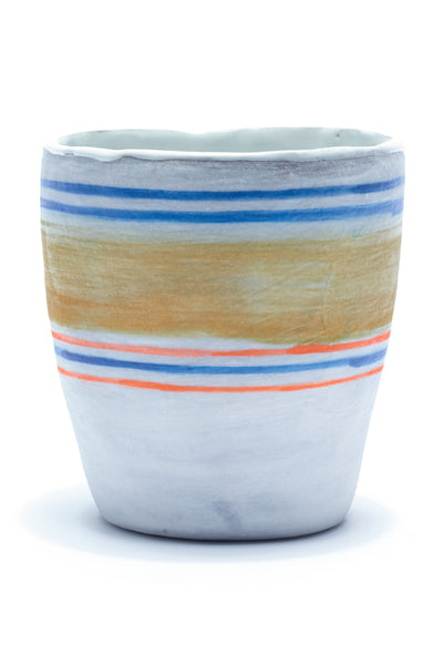 Thick Striped Cup