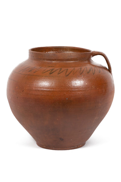 Large Antique Clay Pot