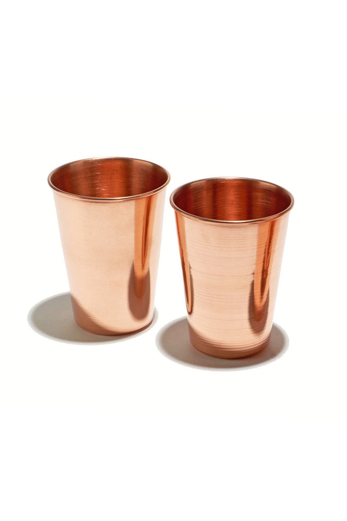 Set of Copper Tumblers