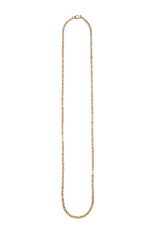 Gold Keepsake Chain Necklace